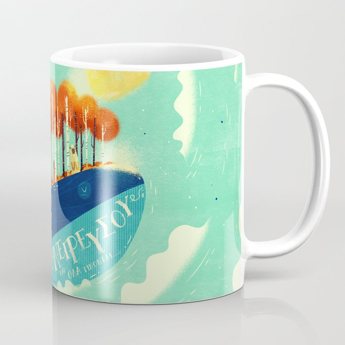 :::Tall Tree Whale::: Coffee Mug