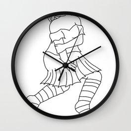 Suspicious Wall Clock