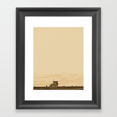 Dawn to Dusk Framed Art Print