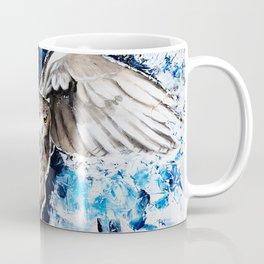 "Owl - Animal - ""I own the night..."" by LiliFlore Coffee Mug"