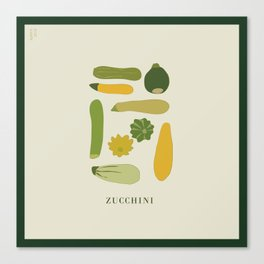 ZUCCHINI Canvas Print