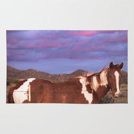 Santa Fe Horse Sunset Rug