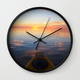 Front Row Seat Wall Clock