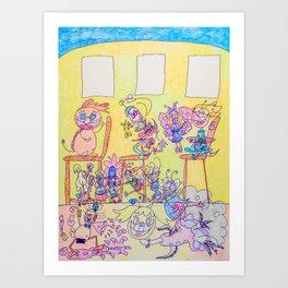 Kelly Bruneau #4 Art Print
