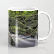 River At Padley Gorge Mug