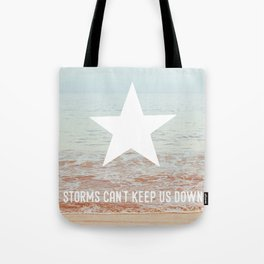 Lone Star Storm Tote Bag