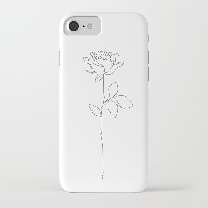 fragile rose iphone case