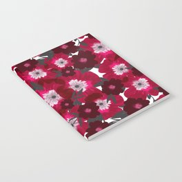 Flowers Overflowing Notebook