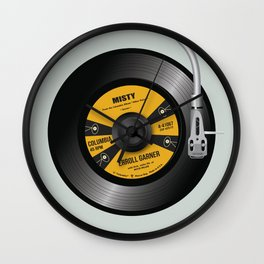 Play Misty For Me - Alternative Movie Poster Wall Clock