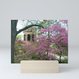 Bell Tower in Spring Mini Art Print
