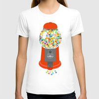 gumball T-shirts featuring Gumball Machine by Haley Jo Phoenix