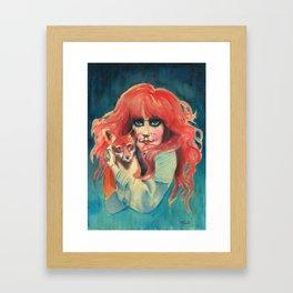 Vali Myers Framed Art Print