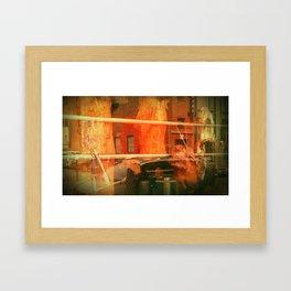 CHINATOWN. Framed Art Print
