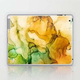 Turning Fall  - Abstract Ink Painting Laptop & iPad Skin