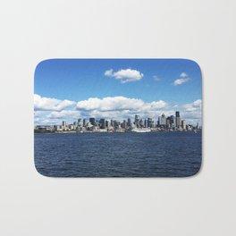 Seattle Skyline - #1 Bath Mat