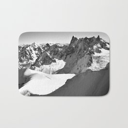 French Alps, Chamonix, France. Bath Mat