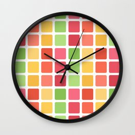 Color Scheme Wall Clock