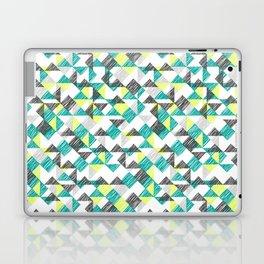 scribble triangles Laptop & iPad Skin
