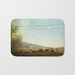 Starlit Vineyard Bath Mat