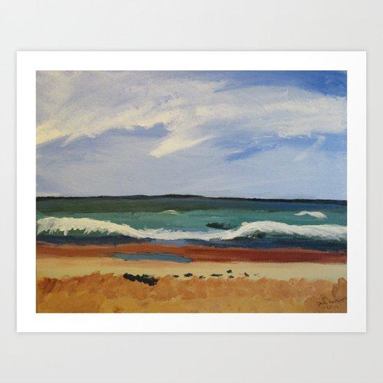 Ormond Beach Art Print