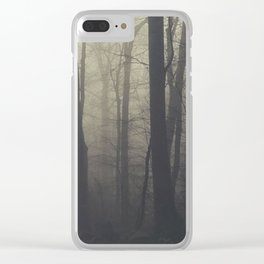 ...stirring up a storm Clear iPhone Case