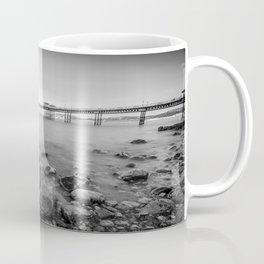 Llandudno Peir Bw Coffee Mug
