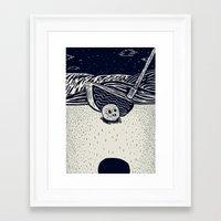 golf Framed Art Prints featuring Golf by Ido Back