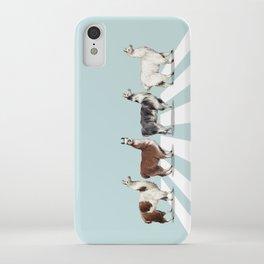 Llama The Abbey Road #1 iPhone Case