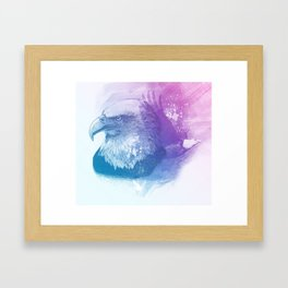 Animal Spirit Eagle Framed Art Print