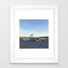 Avalon, NJ Framed Art Print