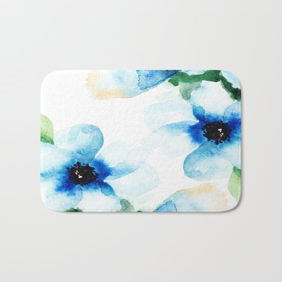 Flowers 06 Bath Mat