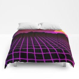 80s Vibes Comforters