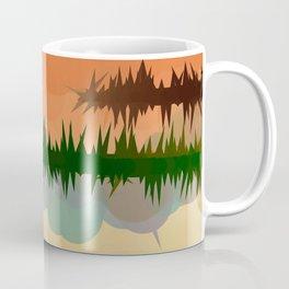 "Digital Abstract Landscape ""Minnesota Memories"" Coffee Mug"