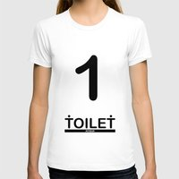 toilet T-shirts featuring TOILET CLUB #1 by Toilet Club
