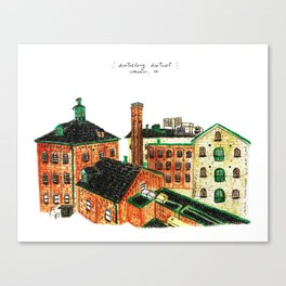 Distillery District Canvas Print
