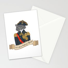 His Lordship Admiral Montgomery Flufferbutt Stationery Cards