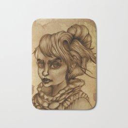 Coffee Girl Bath Mat