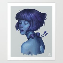 Lapis Lazuli Art Print