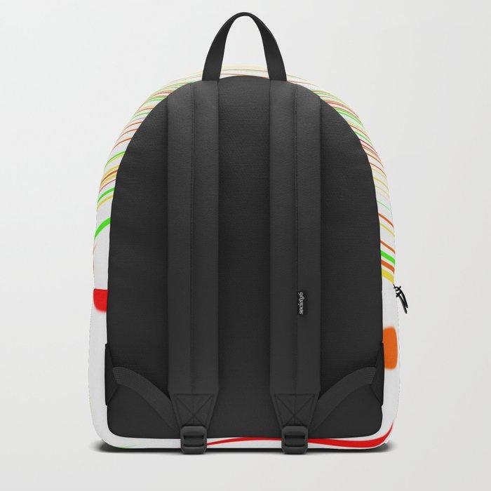 Paint Splatter Backpack