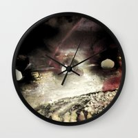 shell Wall Clocks featuring Shell by SteeleCat