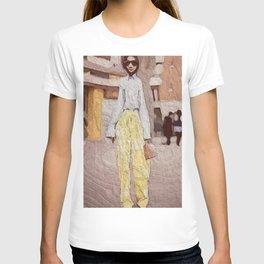 Mellow Yellow Pants T-shirt