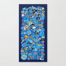 Twitter birds Canvas Print