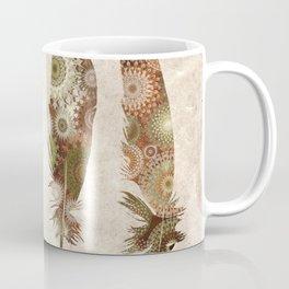 vintage mandala feathers Coffee Mug