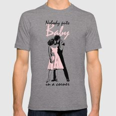 Dirty Dancing Tri-Grey X-LARGE Mens Fitted Tee