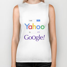 I use Yahoo to Google Biker Tank