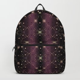 1920s pearl chic bordeaux Backpack