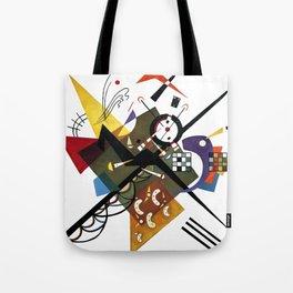Kandinsky Sur Blanc, 1923 Tote Bag