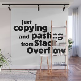 Stack Overflow Wall Mural
