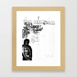 AutoCUNT 005 Framed Art Print