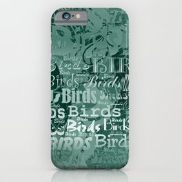 Bird Fantasy V1 TAQUAMARINE iPhone Case